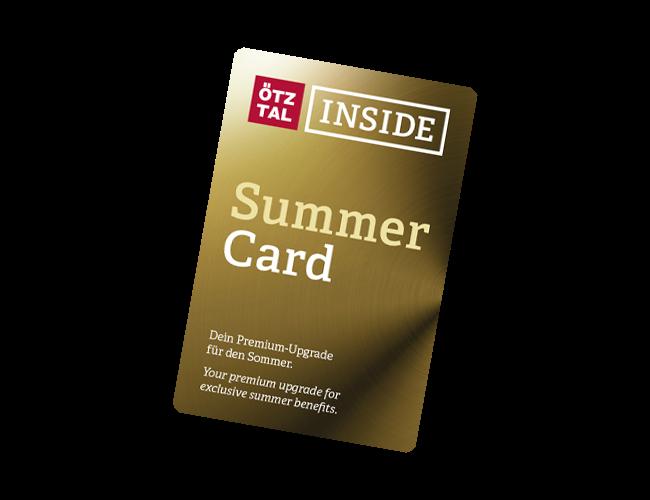 Ötztal Inside Summer Card | Sölden | soelden.com