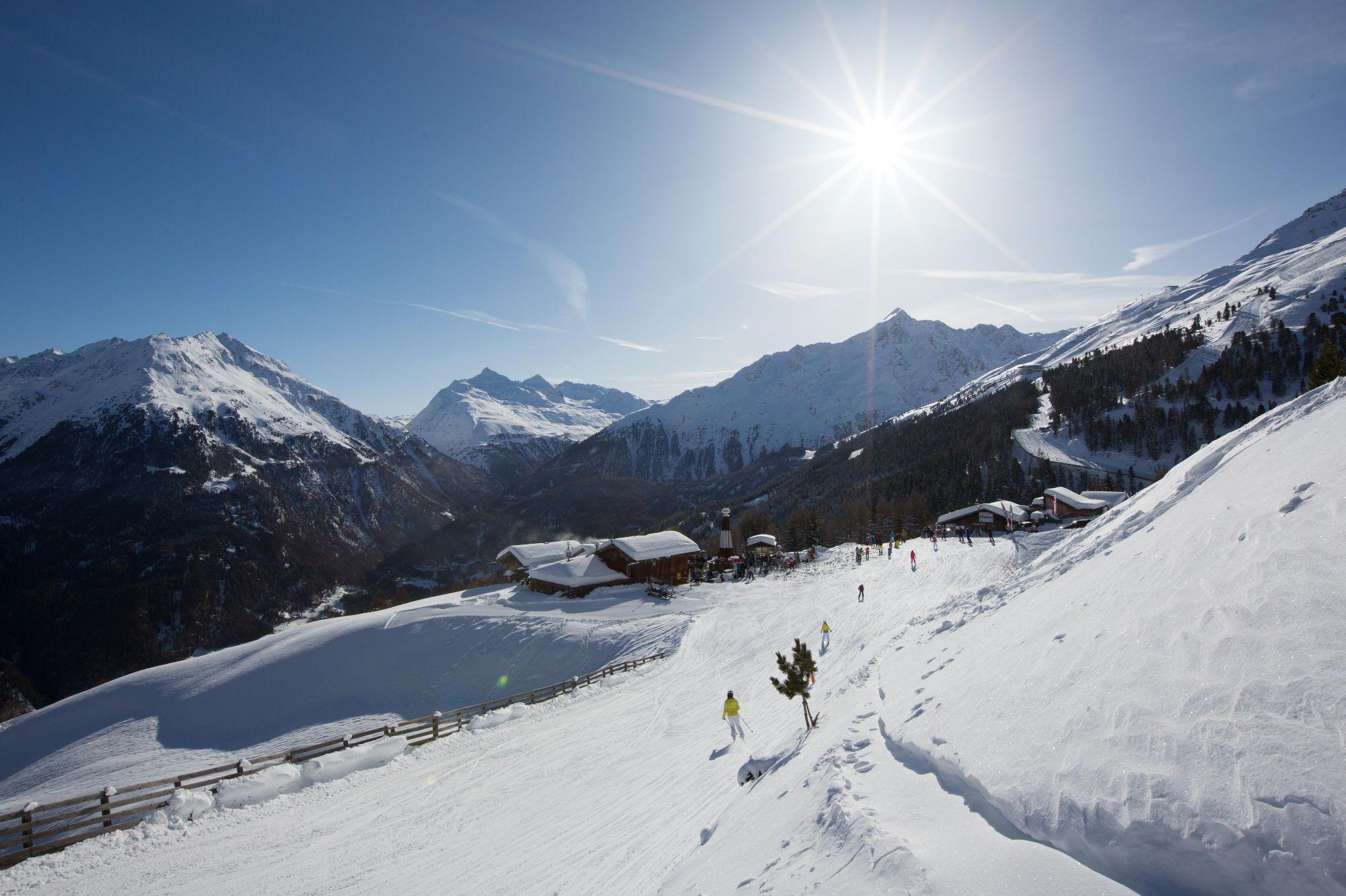 Skigebietsplan Slden & Skimap in 3D Slden Tirol sterreich
